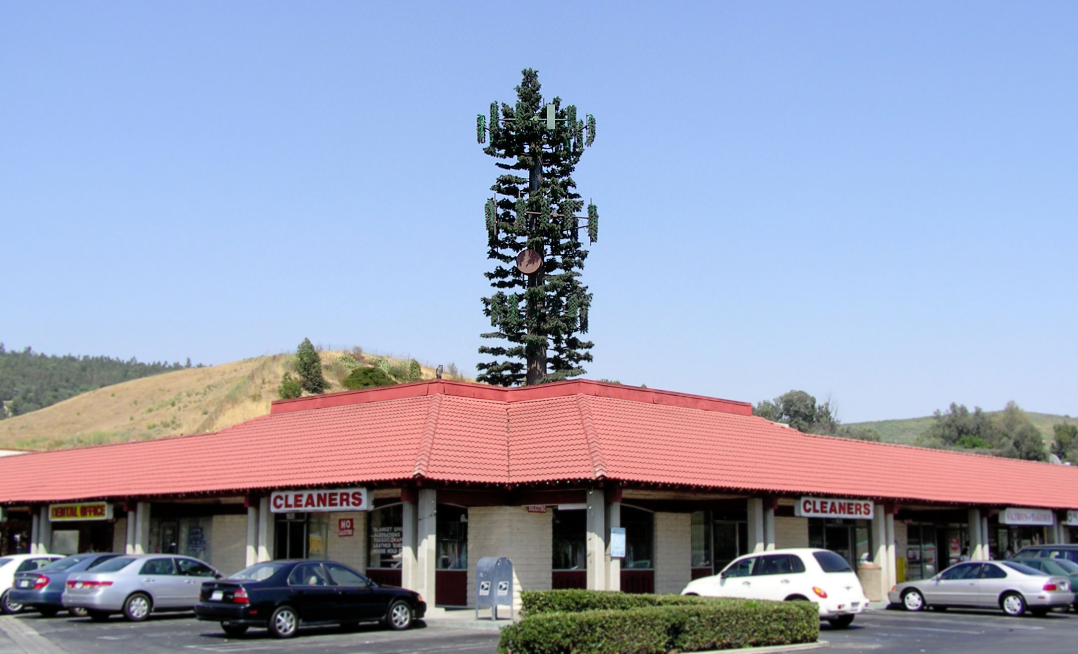 Cell Tower Shopping Center